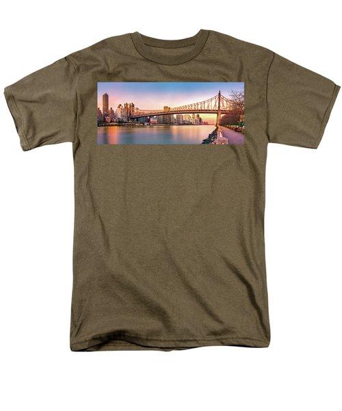 Queensboro Bridge At Sunset Men's T-Shirt  (Regular Fit) by Mihai Andritoiu