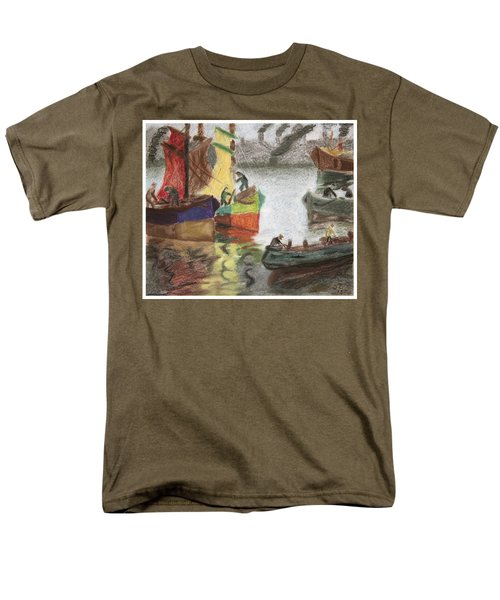 La Boca Caminito Men's T-Shirt  (Regular Fit) by Silvia Bruno