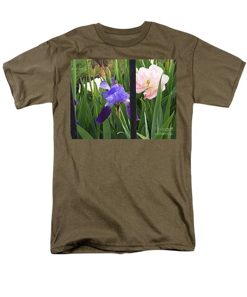 Men's T-Shirt  (Regular Fit) featuring the photograph Quite The Pair by Nancy Kane Chapman