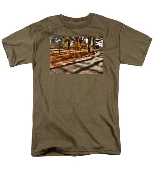 Radiating Men's T-Shirt  (Regular Fit) by Betsy Zimmerli