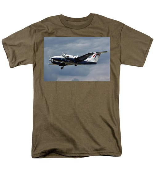 Men's T-Shirt  (Regular Fit) featuring the photograph Raf Beech King Air 200  by Tim Beach