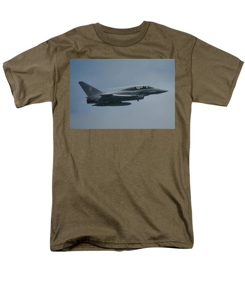Men's T-Shirt  (Regular Fit) featuring the photograph Raf Eurofighter Typhoon T1  by Tim Beach
