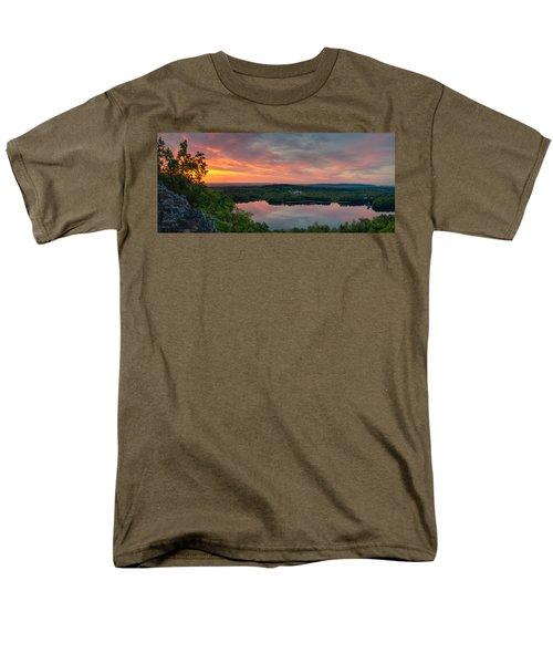 Ragged Mountain Sunrise Men's T-Shirt  (Regular Fit) by Craig Szymanski
