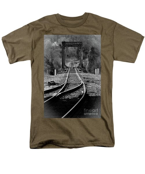 Rails Men's T-Shirt  (Regular Fit) by Douglas Stucky