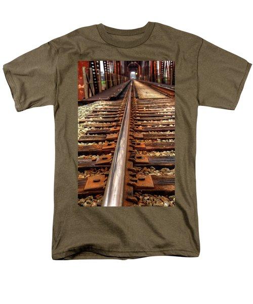 Railway Men's T-Shirt  (Regular Fit) by Ester Rogers