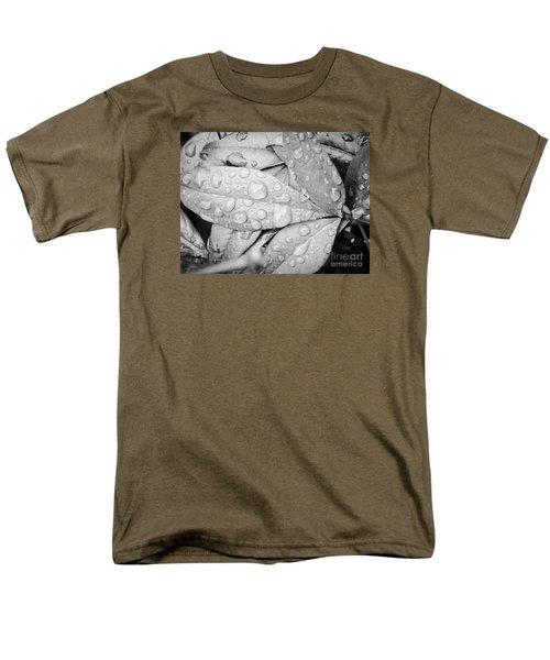Men's T-Shirt  (Regular Fit) featuring the photograph Rain Drops by Robin Coaker