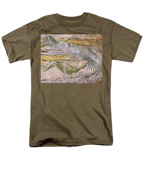Rain In The  Valley Men's T-Shirt  (Regular Fit) by Nancy Kane Chapman