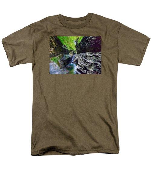 Rainbow Bridge And Falls Men's T-Shirt  (Regular Fit)