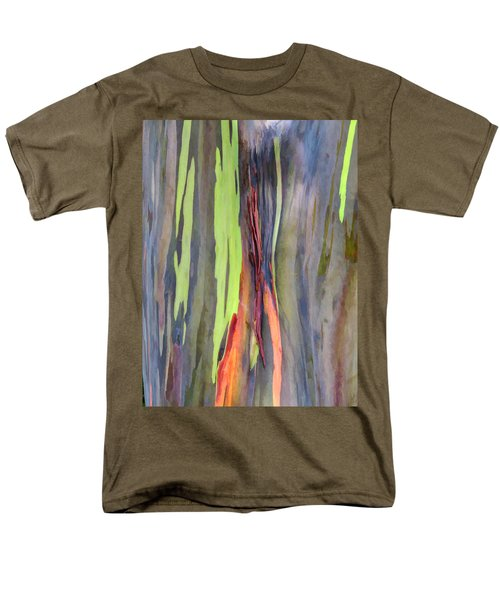 Rainbow Eucalyptus 13 Men's T-Shirt  (Regular Fit) by Dawn Eshelman