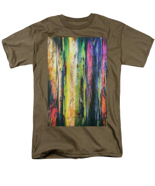 Men's T-Shirt  (Regular Fit) featuring the photograph Rainbow Grove by Ryan Manuel