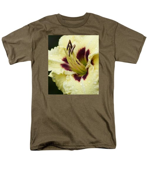 Raindrops On A Petal Men's T-Shirt  (Regular Fit) by Tiffany Erdman