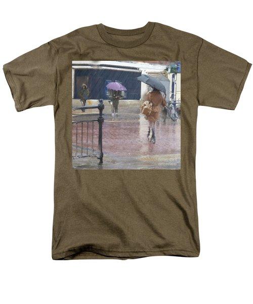 Men's T-Shirt  (Regular Fit) featuring the photograph Raining All Around by LemonArt Photography