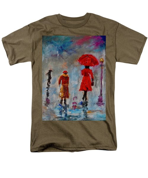 Rainy Spring Day Men's T-Shirt  (Regular Fit) by Sher Nasser