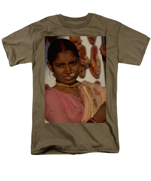 Men's T-Shirt  (Regular Fit) featuring the photograph Rajasthan by Travel Pics