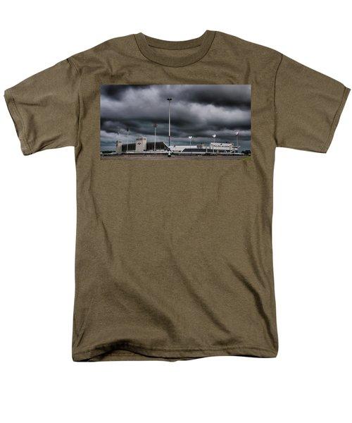 Ralph Wilson Stadium 5803 Men's T-Shirt  (Regular Fit) by Guy Whiteley