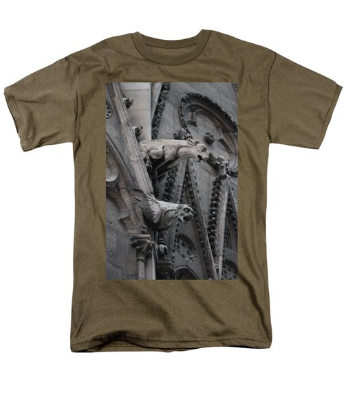 Ram And Eagle Griffon Notre Dame Men's T-Shirt  (Regular Fit) by Christopher Kirby
