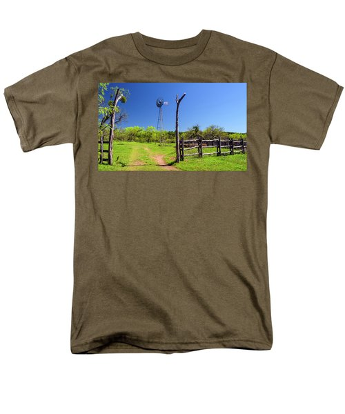 Ranch At Click Gap II Men's T-Shirt  (Regular Fit) by Greg Reed