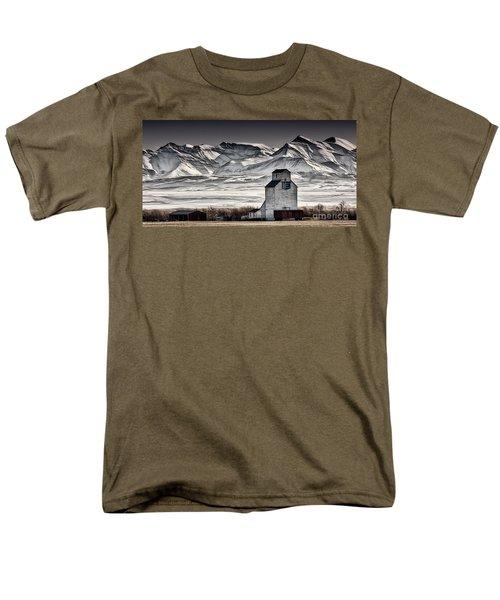 Ranchland Elevator Men's T-Shirt  (Regular Fit) by Brad Allen Fine Art