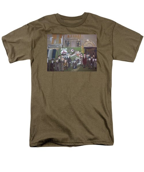 Raob Ambulance Men's T-Shirt  (Regular Fit) by Judith Desrosiers