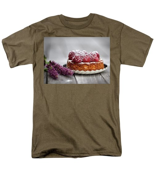 Raspberry Tarte Men's T-Shirt  (Regular Fit) by Nailia Schwarz