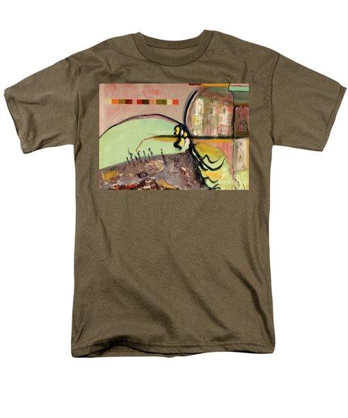 Rational Thought Begins Here Men's T-Shirt  (Regular Fit)