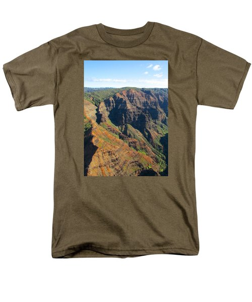 Men's T-Shirt  (Regular Fit) featuring the photograph Razor's Edge by Brenda Pressnall