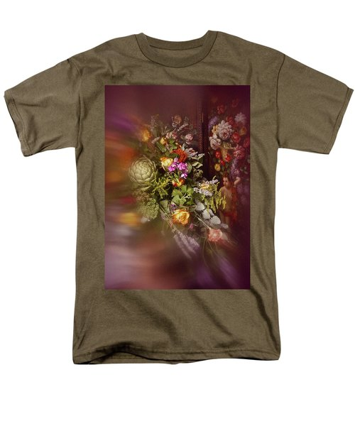 Floral Arrangement No. 1 Men's T-Shirt  (Regular Fit) by Richard Cummings