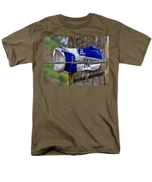 Men's T-Shirt  (Regular Fit) featuring the photograph Recycle Please by Betty Northcutt