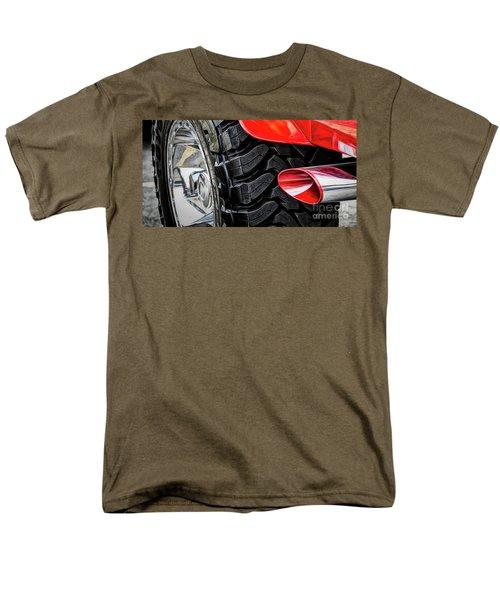 Men's T-Shirt  (Regular Fit) featuring the photograph Red 4x4 by Brad Allen Fine Art