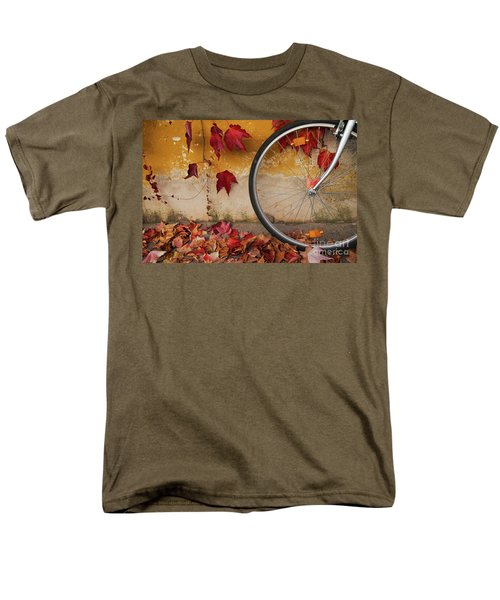 Men's T-Shirt  (Regular Fit) featuring the photograph Red Autumn by Yuri Santin