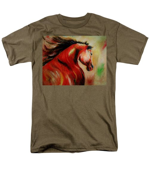 Red Breed Men's T-Shirt  (Regular Fit) by Khalid Saeed