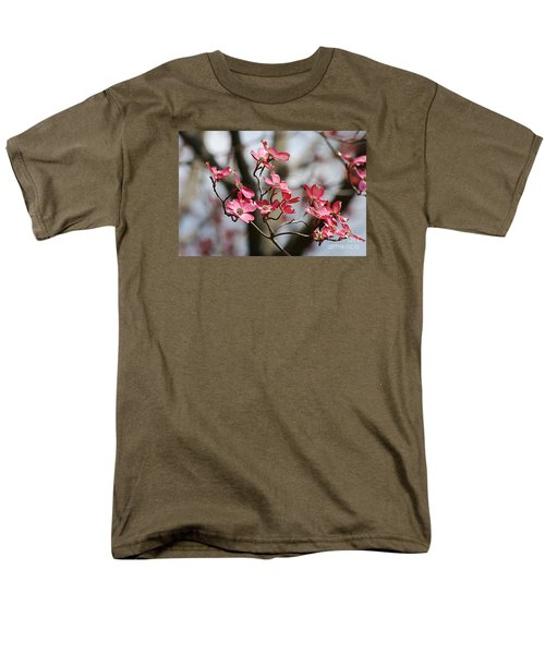 Red Cloud Dogwood 2012410_90a Men's T-Shirt  (Regular Fit) by Tina Hopkins