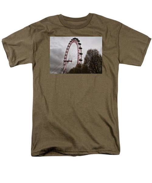 Men's T-Shirt  (Regular Fit) featuring the photograph Red Eye by Shirley Mitchell