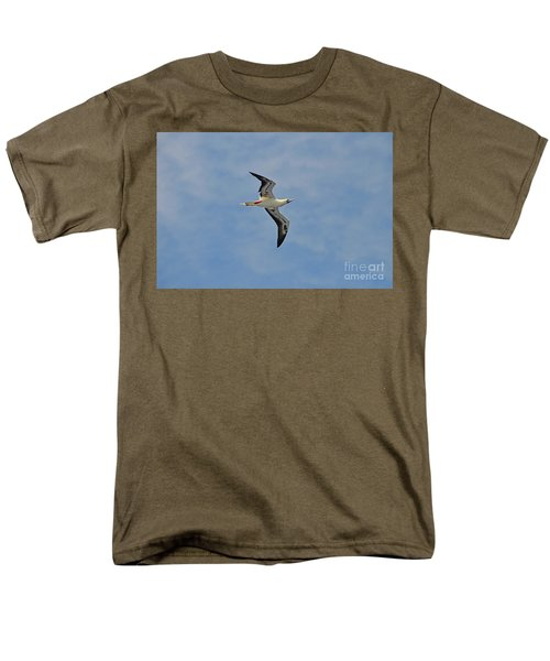 Red Footed Booby Bird 4 Men's T-Shirt  (Regular Fit) by Eva Kaufman