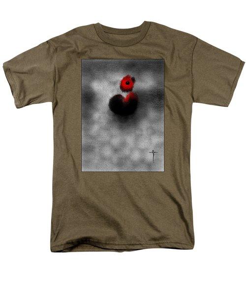 Red Mouse Men's T-Shirt  (Regular Fit)