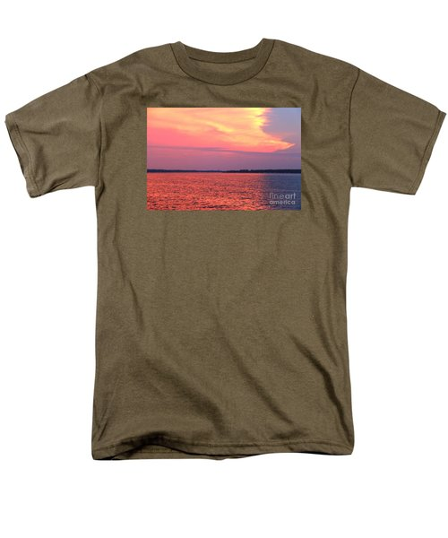 Red Reflection  Men's T-Shirt  (Regular Fit) by Yumi Johnson