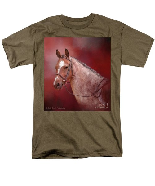 Red Roan Men's T-Shirt  (Regular Fit) by Kathy Russell
