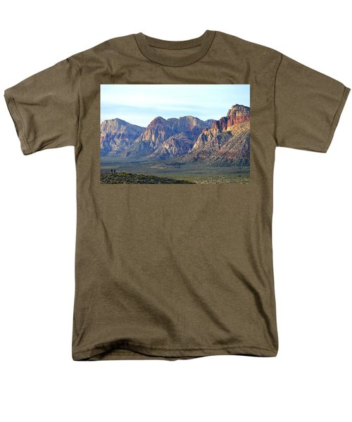 Men's T-Shirt  (Regular Fit) featuring the photograph Red Rock Canyon - Scale by Glenn McCarthy Art and Photography