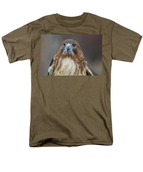 Men's T-Shirt  (Regular Fit) featuring the photograph Red Tailed Hawk by Richard Bryce and Family