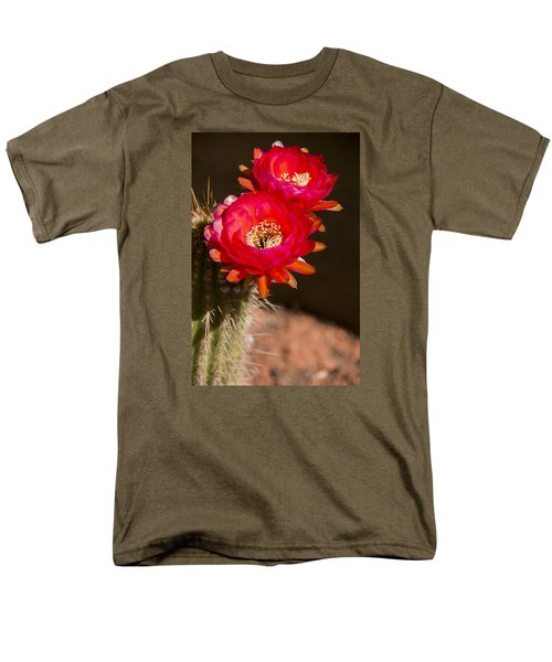 Red Tops Men's T-Shirt  (Regular Fit) by Laura Pratt