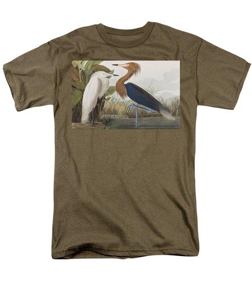 Reddish Egret Men's T-Shirt  (Regular Fit) by John James Audubon