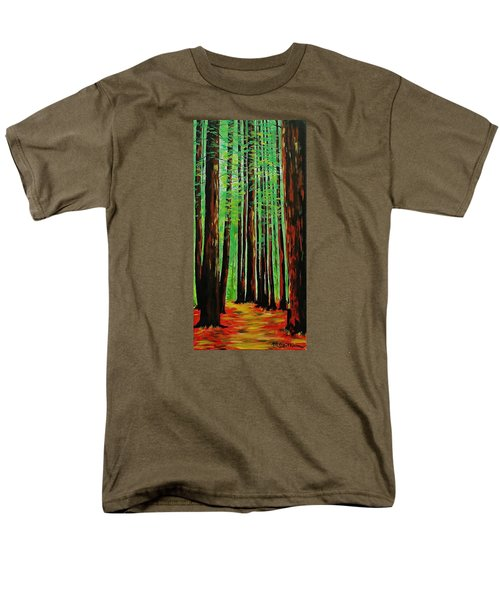 Redwoods Majestic 2 Men's T-Shirt  (Regular Fit) by Mike Caitham
