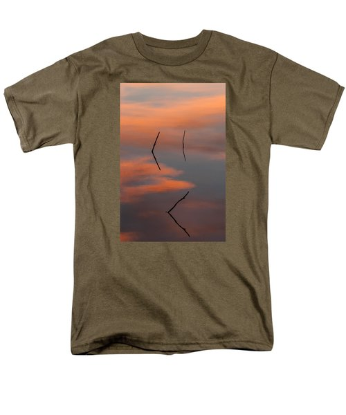 Men's T-Shirt  (Regular Fit) featuring the photograph Reflected Sunrise by Monte Stevens