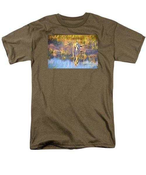 Reflection Men's T-Shirt  (Regular Fit) by Pravine Chester