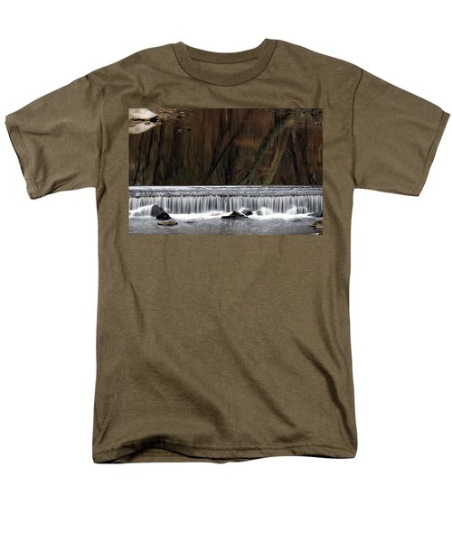 Reflections And Water Fall Men's T-Shirt  (Regular Fit)