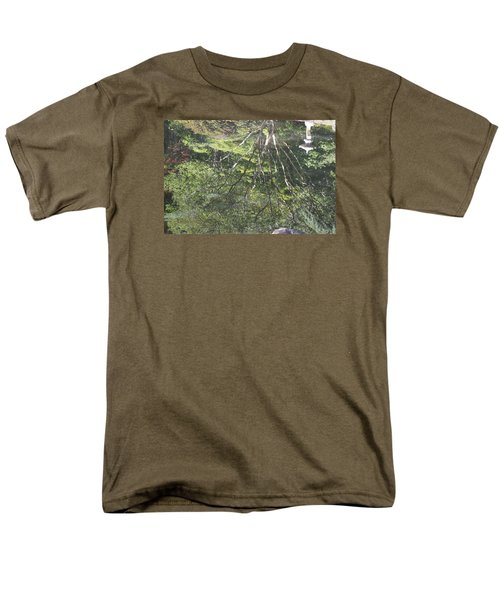 Reflections In The Japanese Gardens Men's T-Shirt  (Regular Fit) by Linda Geiger