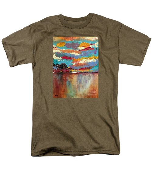Reflections Men's T-Shirt  (Regular Fit)