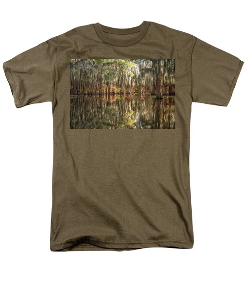Reflections On The Bayou Men's T-Shirt  (Regular Fit)