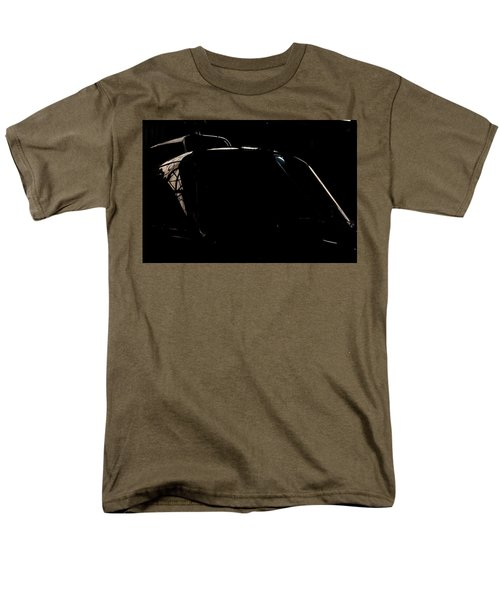Reflective Helicopter Outline Men's T-Shirt  (Regular Fit) by Paul Job