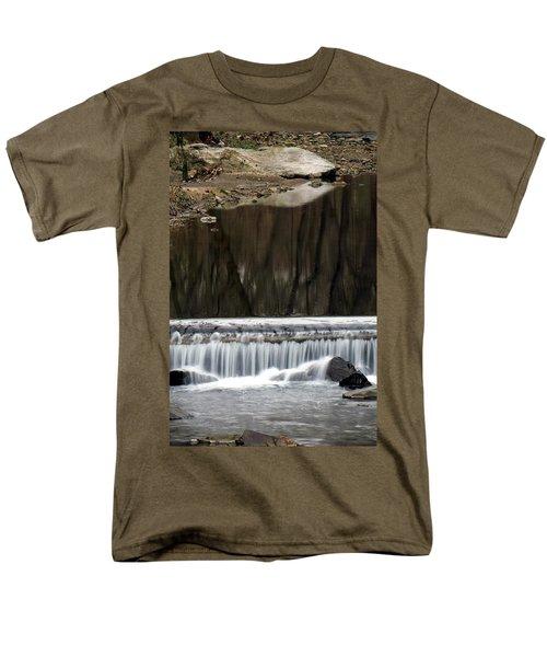 Reflexions And Water Fall Men's T-Shirt  (Regular Fit)